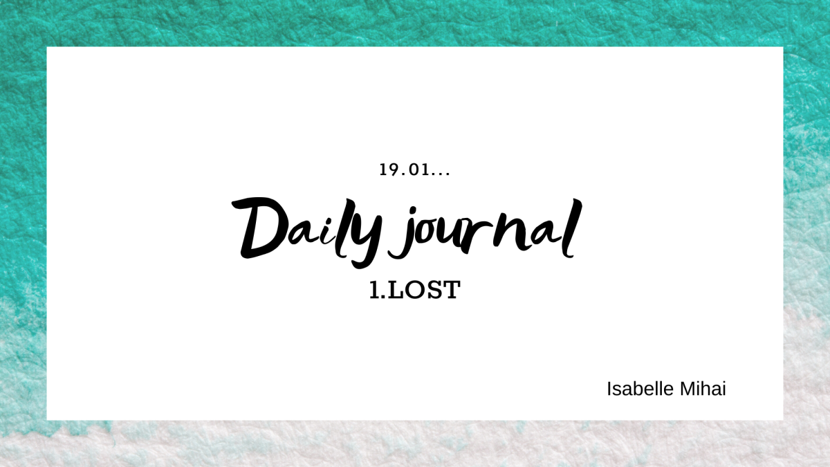 Daily journal: 1. LOST